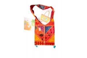 Наплечная индийская сумка 535