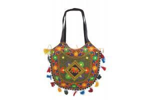 Купить хозяйственную этно сумку ручной работы из Индии #625/3 в интернет-магазине сумок «IndianBags.ru»