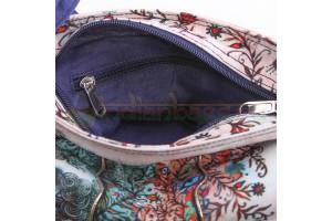 Индийская Этно сумка  на плечо с принтом Оксаны Заики #АВ4460