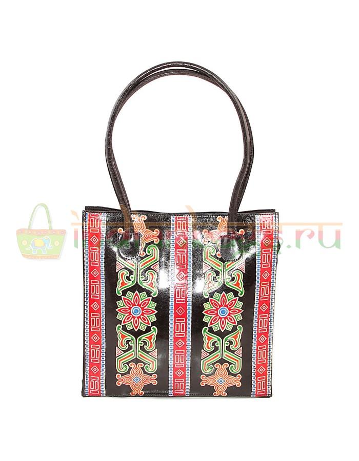 Купить женскую индийскую сумку из натуральной кожи #1126/9 в интернет-магазине индийских сумок «IndianBags.ru»